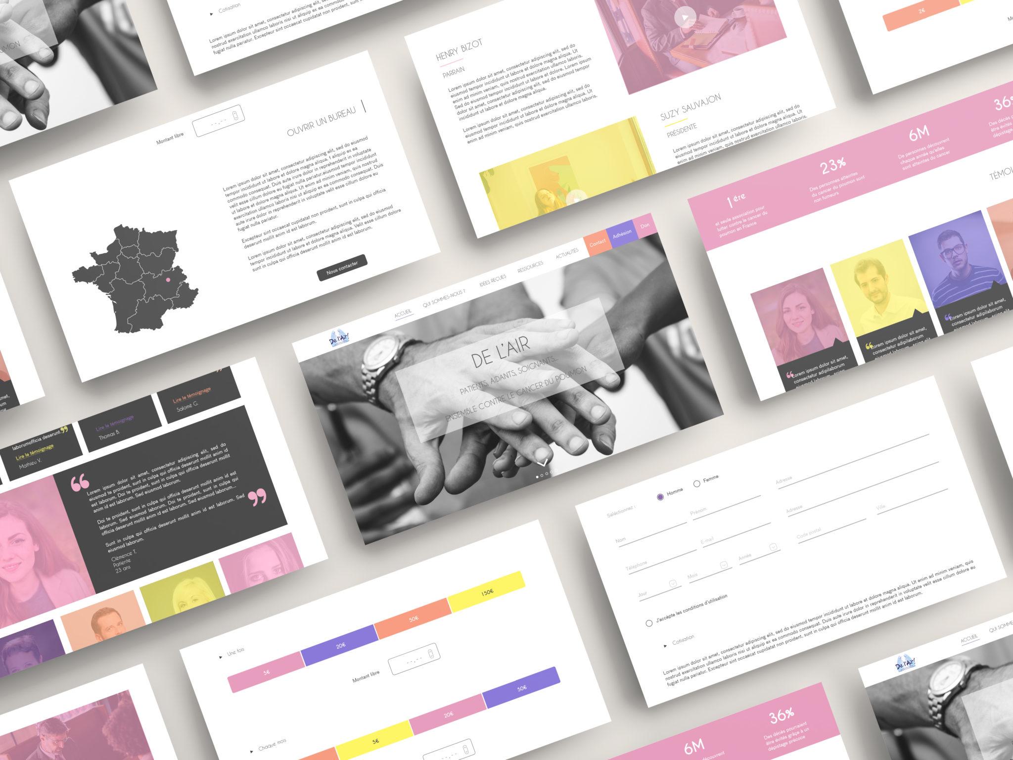 Site Web – Association De L'air